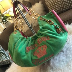 JUICY COUTURE terry hobo